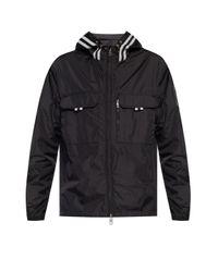 Moncler Black 'abbe' Jacket for men
