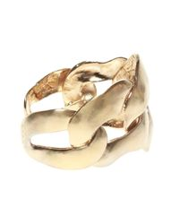 Marni Metallic Bracelet With Cut-out Details