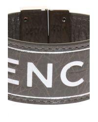 Balenciaga - Multicolor Logo-embossed Bracelet - Lyst
