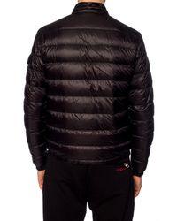 Moncler Black 'agay' Down Jacket for men