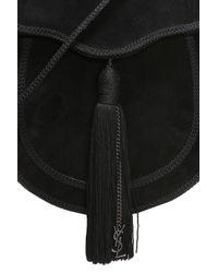 Saint Laurent Black 'opium' Shoulder Bag