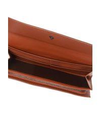 Bottega Veneta Brown Leather Wallet