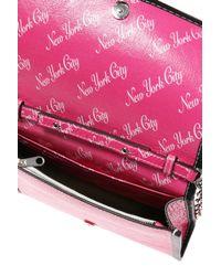 Balenciaga Pink 'bazar Chain' Shoulder Bag