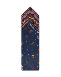 Etro Blue Tie & Pocket Square for men