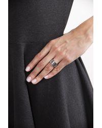 Bottega Veneta - Metallic Silver Ring - Lyst