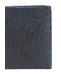 Burberry Black Bi-fold Wallet for men