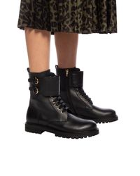 Ferragamo Black Crotone' Ankle High Sport Shoes