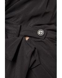 Vivienne Westwood Black Asymmetric Mini Dress