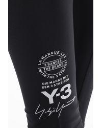 Y-3 Black Logo Leggings