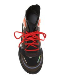 Lanvin Black Lace-up Sport Shoes for men