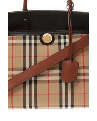 Burberry Brown Branded Shoulder Bag