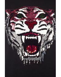 Gucci Black Tiger Motif Sweatshirt for men