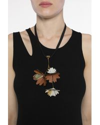 Marni - Multicolor Necklace With Charm - Lyst
