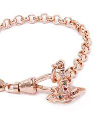 Vivienne Westwood - Pink Light Rose New Petite Orb Bracelet - Lyst