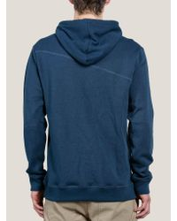 Volcom - Blue Stone Pullover Hoodie for Men - Lyst