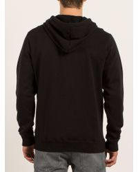 Volcom | Black Stone Zip Hoodie for Men | Lyst