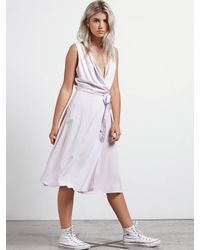Volcom Purple Stone Resort Dress