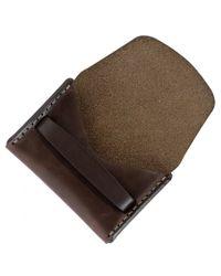 Makr - Brown Flap Wallet for Men - Lyst