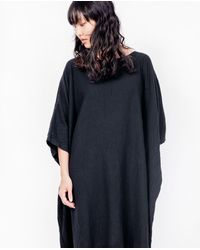 Uzi - Box Dress / Black - Lyst