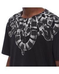 Marcelo Burlon - Black Leonardo T-shirt for Men - Lyst