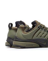 Nike Green Air Presto Low Utility for men