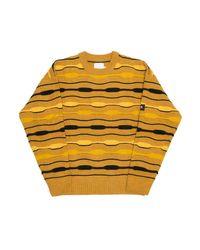 Maglione Caracal di Martine Rose in Yellow da Uomo