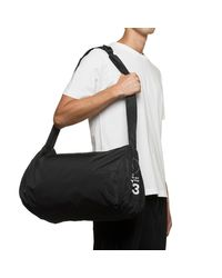 Y-3 Black Yohji Gym Bag for men