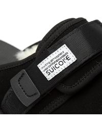 Suicoke Black Zago Sandals for men