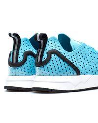 Adidas Originals Blue Zx Flux Adv Asym Pk for men
