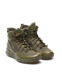 Nike Green Lupinek Flyknit for men