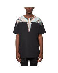 Salvador t-shirt di Marcelo Burlon in Black da Uomo