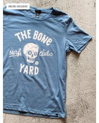 Watershed Brand Blue Drive In T-shirt