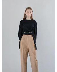 W Concept Wing T Shirt Black