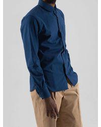 SOPHY&TAYLOR Blue [wxo] Iu Pocket Shirts Navy for men