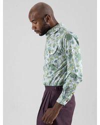 SOPHY&TAYLOR [wxo] Sunflower Green Shirts for men
