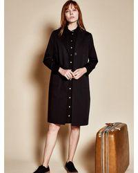 W Concept - Three Pocket Coat_black - Lyst