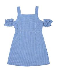 Noir Jewelry - Blue Check Dress - Lyst