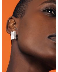 W Concept - Multicolor Simple Square Earring 1 - Lyst