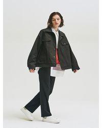 Add Oversize Jacket Type 1 Black