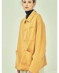 W Concept - Yellow Jk73007 Mustard Basket Jk Mustard - Lyst