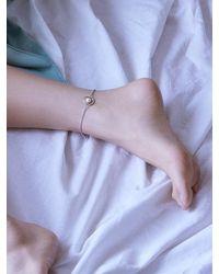 Matias Metallic Silver Line Bracelet