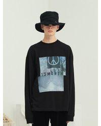 13Month [unisex] Peace Long Sleeve T-shirt Black