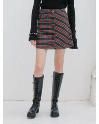 Noir Jewelry Red Atom Skirt