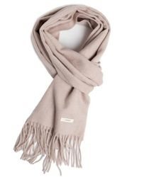 W Concept | Multicolor Lambs Wool Muffler Oatmeal | Lyst
