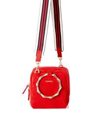 W Concept - Bamboo Cube Bag Red - Lyst