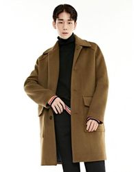 BONNIE&BLANCHE | Multicolor Single Overfit Coat_camel for Men | Lyst