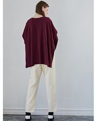 W Concept - Red Wing T Shirt Wine - Lyst