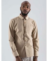 SOPHY&TAYLOR Natural [wxo] Iu Pocket Shirts Beige for men