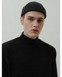 XTONZ Xk4 Embroidery Turtleneck Knit Black for men