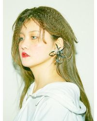 Baby Centaur | Metallic Magic Lily Earring - Small Size [silver , Gold] | Lyst